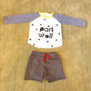 Splendid & Egg Boys Outfit 18-24m EUC
